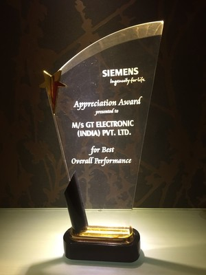 Outstanding Award for GT Electronic India